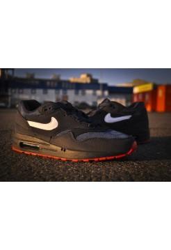 Кроссовки Nike Air Max 87 Черные (V-718)