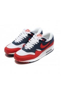 Кроссовки Nike Air Max 87 Красно-черные (V-719)