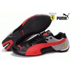 Кроссовки Ferrari Low Black Grey Red (О421)
