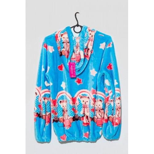 """Пижама женская """"Северное сияние"""" голубой"""