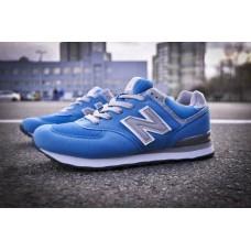 Кроссовки New Balance 574 Синие (V-112)