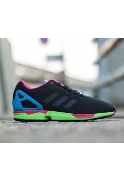 Кроссовки Adidas Zx Flux Черные (V-341)