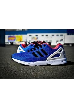 Кроссовки Adidas Zx Flux Синие (V-340)