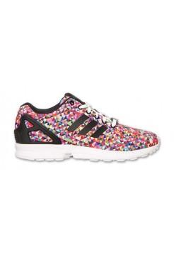 Кроссовки Adidas Originals Zx Flux Мозаика (V-341)