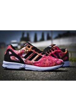 Кроссовки Adidas Originals Zx Flux Красные (V-342)