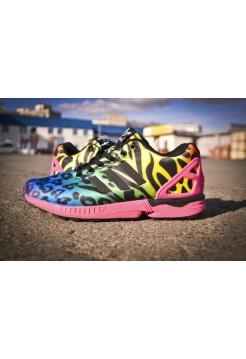 Кроссовки Adidas Originals Zx Flux Розовый (V-344)