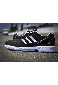 Кроссовки Adidas Zx Flux Черные (V-343)