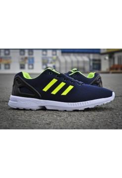 Кроссовки Adidas Zx Flux Синие (V-344)