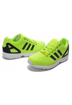 Кроссовки Adidas Zx Flux Желтые (V-345)
