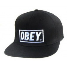 Кепка Snapback Obey Черная (V-245)