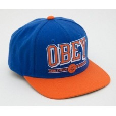 Кепка Snapback Obey Синяя (V-245)
