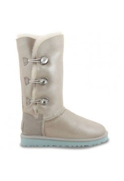 UGG BAILEY BUTTON TRIPLET Белый Кожа (О-443)