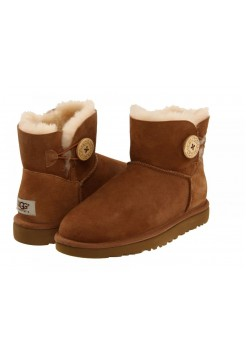 UGG Bailey Button Mini Chestnut (ЕSMO622)