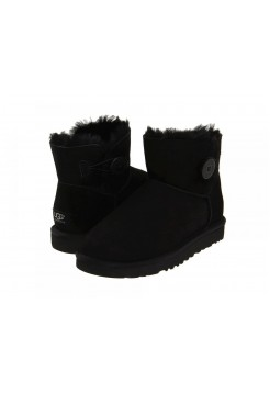 UGG Bailey Button Mini Black (ESОМАV622)