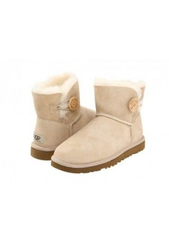 UGG Mini Bailey Button Sand (ESОV621)