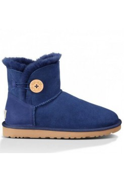 UGG Mini Bailey Button Blue (SО631)