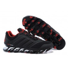 Кроссовки Adidas Springblade 2 Drive Black Red (O-651)