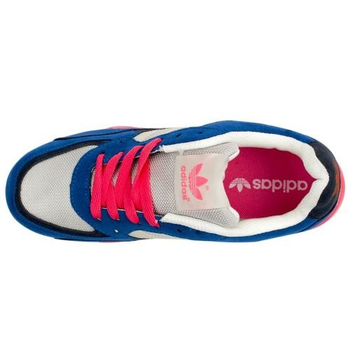 Кроссовки Adidas ZX 850 Серо-розовые (М-351)