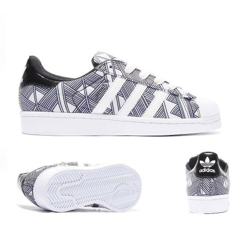 Кроссовки Adidas Superstar Supercolor Ромб (М-128)