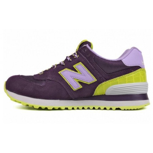 "Кроссовки New Balance 574 BFF Pack ""Purple Candy"" (О-118)"