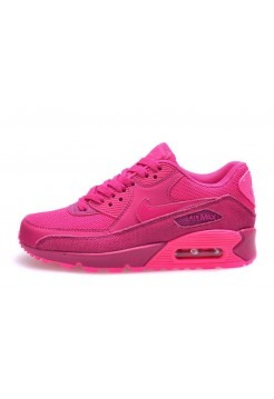 Кроссовки Nike Air Max 90 Premium Fireberry Pink