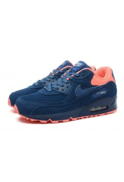 Кроссовки Nike Air Max 90 Premium Blue Orange (ОЕ-277)