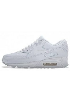 Кроссовки Nike Air Max 90 Essential Triple White (О-521)