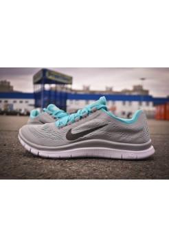 Кроссовки Nike Free Run 3.0 Серые(V-009)