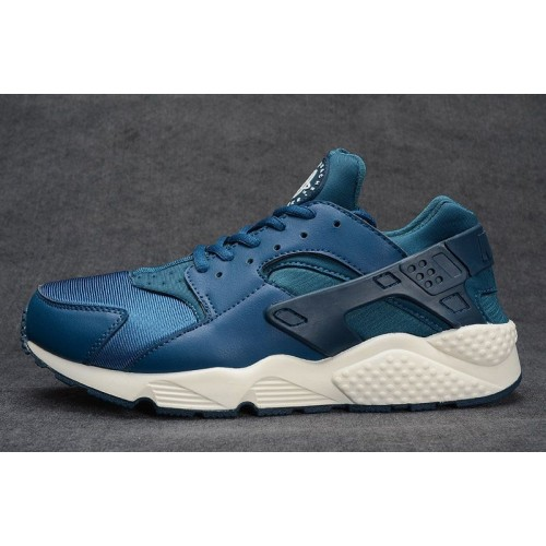Кроссовки Nike Air Huarache All Blue (МЕ-213)