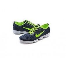Кроссовки Nike Zoom Fit Agility Сине-Салатовые (M-621)