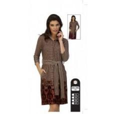 Халат велюровый Cocoon 026-1005 Розовый