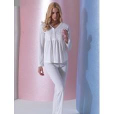 Пижама Mariposa 3256 Крем Брюки