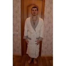 Мужской халат Mariposa M007240 Крем