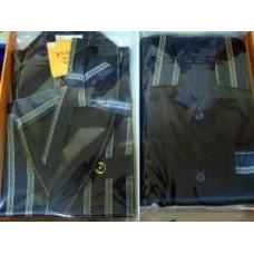 Мужские пижама и халат Nusa ns 9700-1 синий