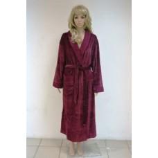 Женский халат Nusa ns 8390 Баклажан