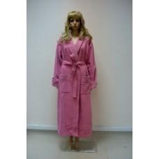 Женский халат велюровый Nusa ns 3560 Сиреневый