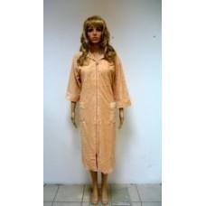 Женский халат велюровый ns 0181 Бежевый