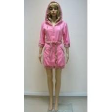 Халат махровый Nusa ns 00550 Розовый