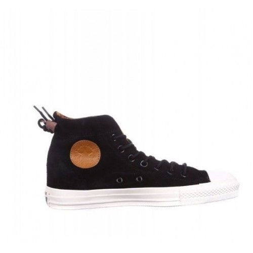 Кеды Converse Chuck Taylor All Stars Suede High Black (O-651)