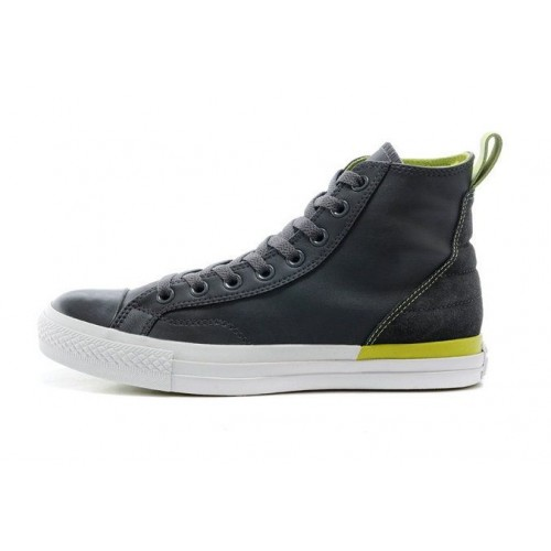 Кеды Converse Chuck Taylor All Stars High Leather Grey (O-643)