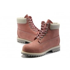 Ботинки Timberland 6 inch Pink White (Made in China)