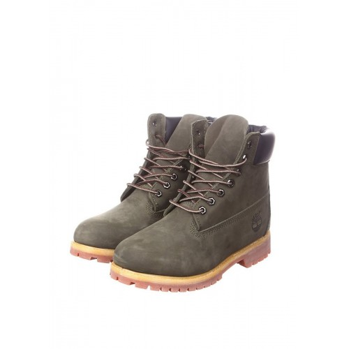 Ботинки Timberland 6 inch Made in China-2 Серый (О419)