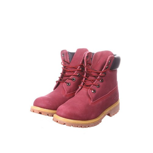 Ботинки Timberland 6 inch Made in China-2 Vinous (О442)