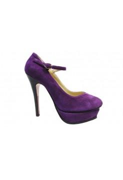 Туфли Yves Saint Laurent Фиолет (О-219)