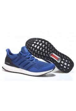 Кроссовки Adidas Ultra Boost Blue White (О-325)
