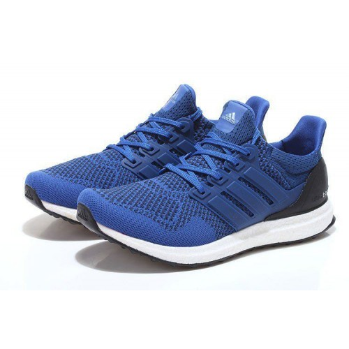Кроссовки Adidas Ultra Boost Blue White (О-325)