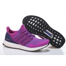 Кроссовки Adidas Ultra Boost Purple White (О-326)
