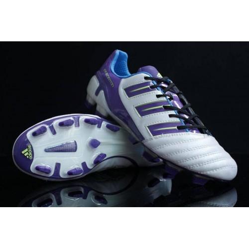 Кроссовки Adidas Adipower Predator XI TRX FG [White/Purple]