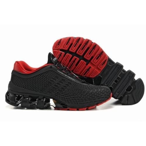 Кроссовки Adidas Porsche Design IV Черный/Красный (О-271)