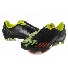 Кроссовки Adidas Predator LZ SL [Black/Green/Red]